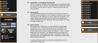 Kiez-Mailer.de - AGB-Ausschnitt